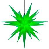 A7 grün Kunststoff Herrnhuter Stern für Außen und Innen
